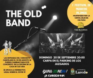 "I FESTIVAL DE MÚSICOS PEJINOS ""THE OLD BAND"" @ Carpa situada en el parking detrás del Juzgado"